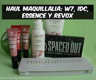 Haul Maquillalia: Revox, W7, IDC, Essence