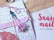 Freebie: Carpeta para Snail mail