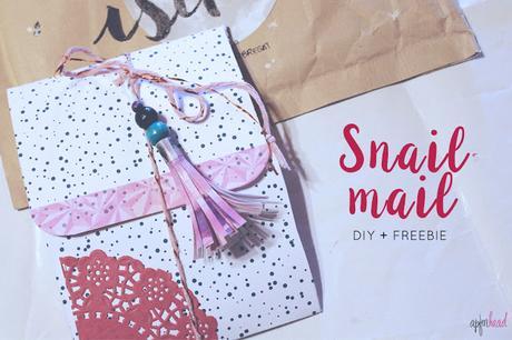 DIY + Freebie: Carpeta para tu Snail mail