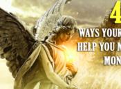 maneras ángeles ayudan manifestar dinero