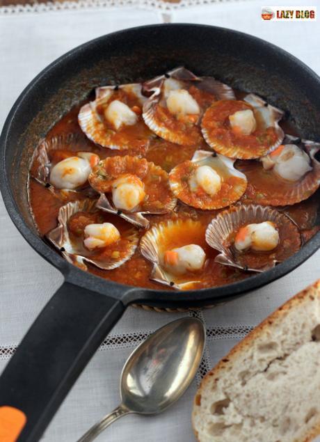 Volandeiras en salsa de tomate, la receta infalible para el aperitivo