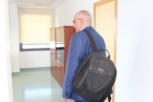 La mochila del director