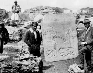 Yacimiento de Karkemish, donde trabajaba como arqueólogo Lawrence de Arabia