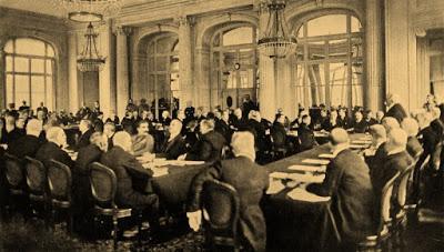 Conferencia de París, que culminó en el Tratado de Versalles