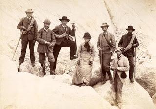 Expedición alpina de principios del siglo XX