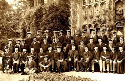 Promoción de graduados en Oxford