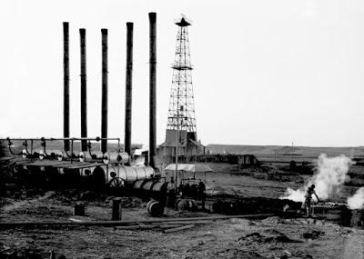 Pozos petrolíferos en Mesopotamia