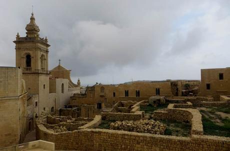 Restos arqueológicos junto a la Catedral de Victoria que ver en Gozo