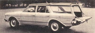 La línea Rambler de 1963