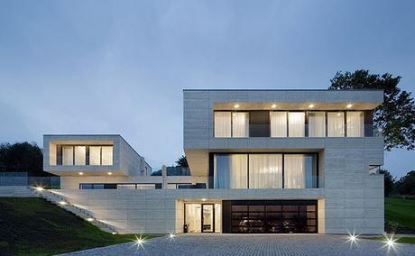 Casa Minimalista en Republica Checa