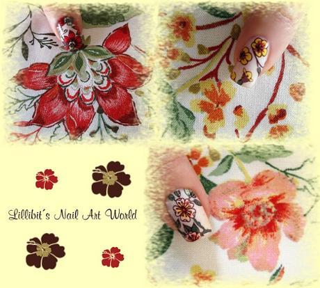 Flores de mi blusa de Bershka :-)