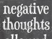 Aprende terminar incómodos pensamientos negativos.