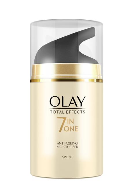 Nueva Total Effects de Olay, ahora con SPF 30
