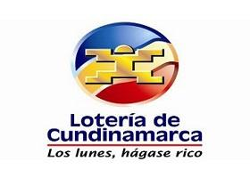 Lotería de Cundinamarca lunes 23 de abril 2018Sorteo 4389