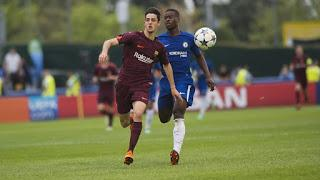 Barcelona es campeón de la UEFA Youth League tras vencer al Chelsea