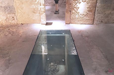 Visita a la cripta de San Vicente