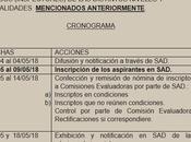 Disposiciones para Inspectores. 2018 Provinica Buenos Aires