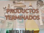 PRODUCTOS TERMINADOS abril cosmética maquillaje
