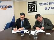 FECAV FEAT asocian para colaborar favor sector transporte viajeros carretera