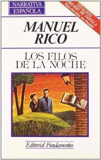 Viaje por la mala conciencia: LOS FILOS DE LA NOCHE, mi segunda novela.