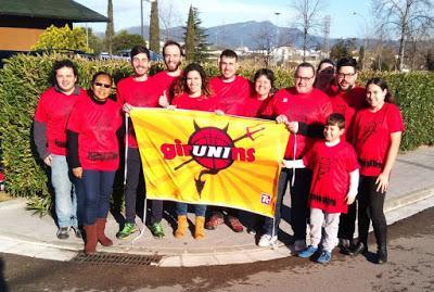 """GirUNIns: """"Nuestra prioridad es animar al Uni Girona y no tenemos malas palabras hacia el rival"""""""