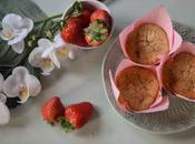 Muffins Fresa Almendra