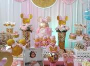 fiesta infantil minnie gold