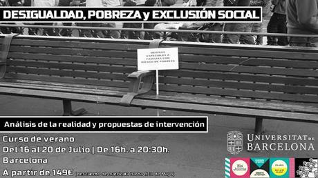 Curso de verano - Desigualdad, pobreza y exclusión social