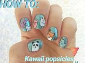 Tutorial (kawaii popsicles) #reto31dias2018 nail