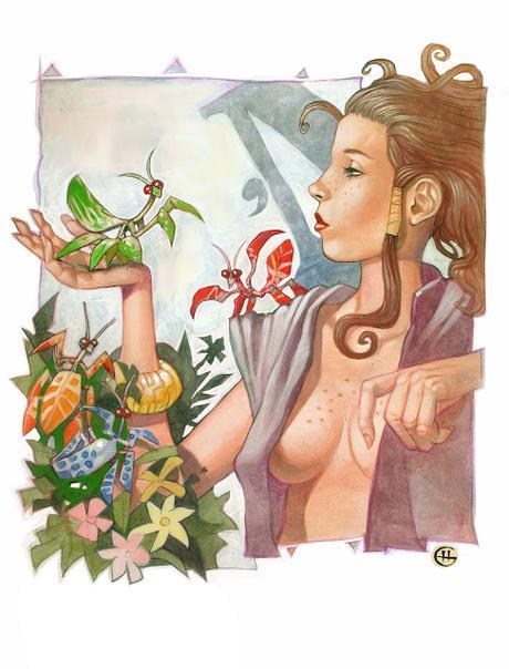 Cuento | La criadora de mamboretás florales