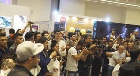 Bakhar Nabieva en Mexico anima a sus seguidores a tener dedicación y constancia