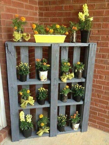 Convirtieron sus palets en cosas utiles para su casa y jardín y se ven increibles