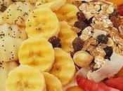 desayuno yogur soja coco fruta