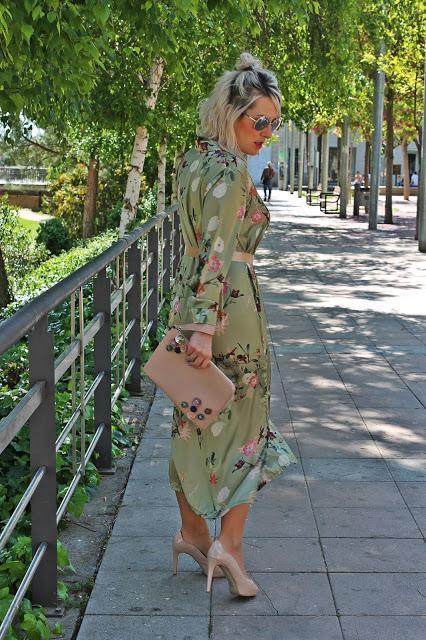 Vestido Camisero Oriental