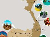 ideas circuitos para combinar Vietnam Camboya