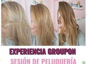 Experiencia Groupon Sesión Peluquería