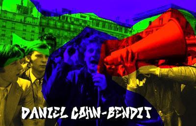 Daniel Cohn-Bendit, principal líder estudiantil del mayo del 68 francés.