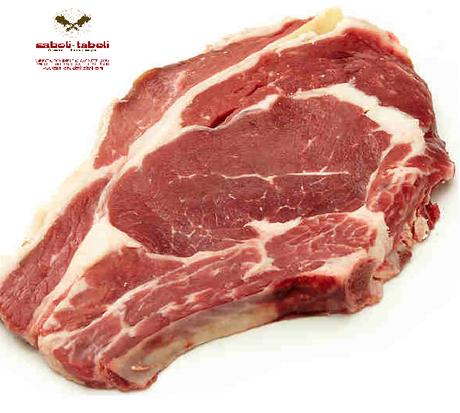 Carne para barbacoa,Chuleton de ternera Saboli Taboli carniceria en Madrid
