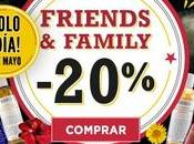 Promociones Friends Family Kiehls 2018