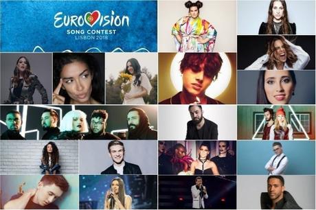 1 SEMIFINAL DE EUROVISIÓN 2018