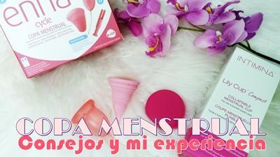 review opinion dudas copas menstruales copa menstrual enna cycle intimina lily cup compact experiencia