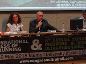 Mesa redonda Congreso Internacional Ultra Trail/Trail Running anual Medicina Ciencia Deportes Resistencia.