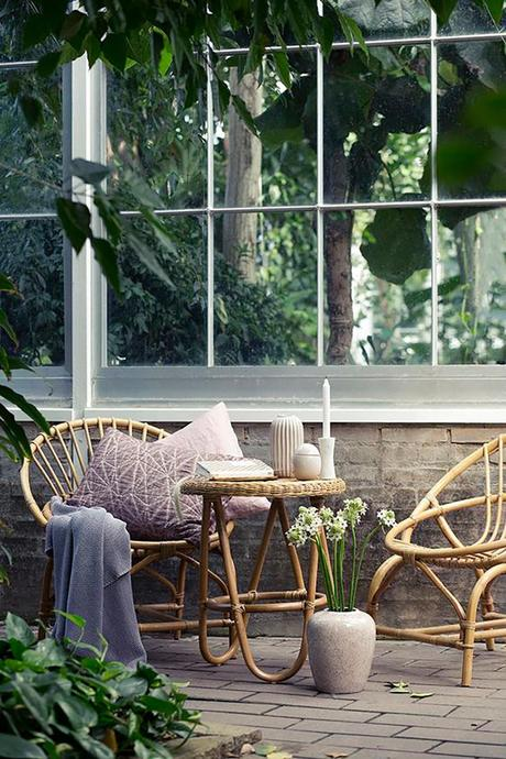 Muebles De Mimbre Para Decorar Tu Terraza Paperblog