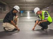 nueva pavimento industrial