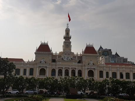 Ho Chi Ming , antiguo Saigon