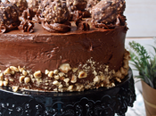 Tarta Avellana chocolate (Tarta Ferrero)- años Brujita