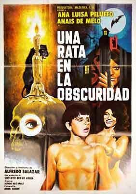 Una Rata en la Oscuridad Poster Mexicano