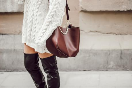 Jersey perlas + Botas negras