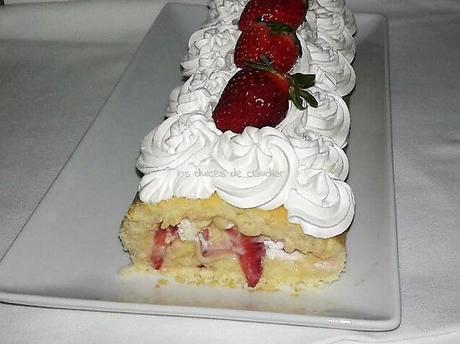 rollo de fresas