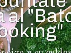 Apúntate Batch Cooking